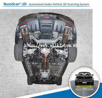NUVOSCAN-  AUTOMATED UNDER VEHICLE 3D SCANNING SYSTEM