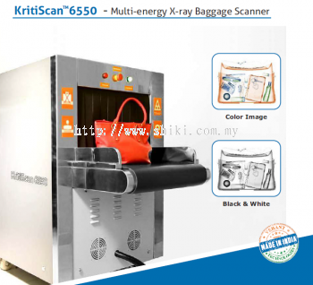 KRITISCAN 6550 - MULTI ENERGY X-RAY BAGGAGE SCANNER