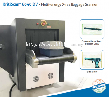 KRITISCAN 6040DV - MULTI ENERGY X-RAY BAGGAGE SCANNER