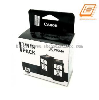 Canon - Twin Pack PG-810 Black Ink Cartridge (Original)