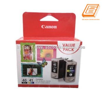 Canon - Value Pack PG-40 Black + CL-41 Colour Ink Cartridge (Original)