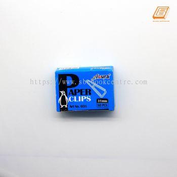 Acura - Paper Clip 31mm,80pcs - (031)