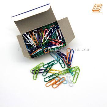 Astar - Colored Paper Clips 28mm, 100pcs - (0228)