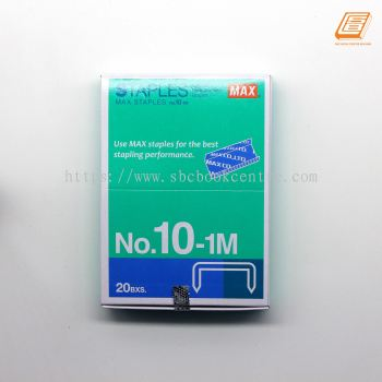 Max - Staples No.10-1M ML- (20BXS)