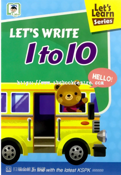 Let's Write 1 to 10