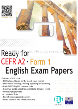 Ready For CEFR A2 English Exam Paper Form 1