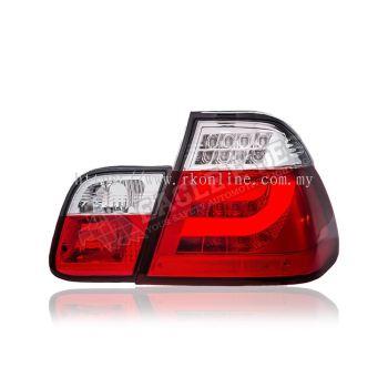 BMW E46 LED Light Bar Tail Lamp 98~01 (4-Door)