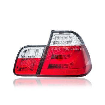 BMW E46 LED Light Bar Tail Lamp 02~05 (4-Door)