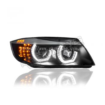 BMW E90 Projector LED 3D Cool Look Head Lamp 09-12