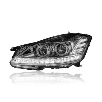 Benz S-Class W221 Projector LED DRL Headlamp 07-10