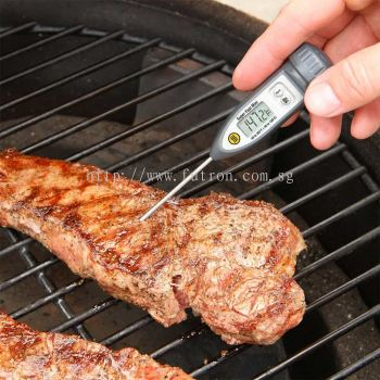 SUPER-FAST MINI THERMOMETER WITH MAX/MIN & HOLD FUNCTION