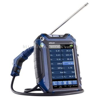 WOHLER A 550 FLUE GAS ANALYZER ADVANCED SET