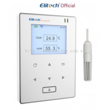 ELITECH RCW-800 WIFI WIRELESS TEMPERATURE & HUMIDITY DATA-LOGGER