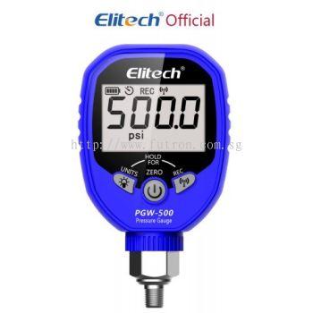 ELITECH PGW-500 WIFI WIRELESS DIGITAL PRESSURE GAUGE