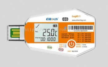 ELITECH LogEt 1/ LogEt 1TH/ LogEt 1Bio Single-Use PDF Data Logger