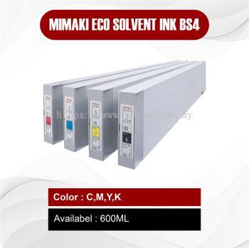 Mimaki Eco Solvent Ink BS4