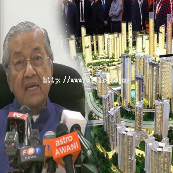 Dr M announces revival of Bandar Malaysia project