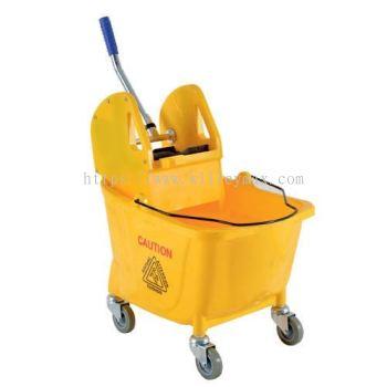 Side Press Single Wringer Mopping Bucket
