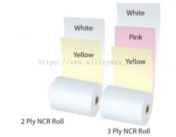 CARBONLESS-NON CARBON REQUIRED (NCR) PAPER ROLL