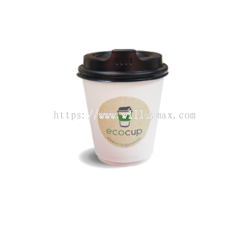 8oz Double Wall Disposable Hot Cup (ECDW8)