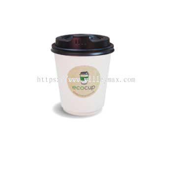 12oz [S]Double Wall Disposable Hot Cup (ECDW12S)