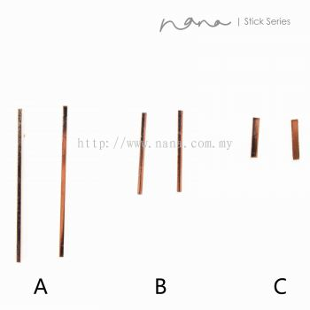 Stick - E115 Square Stick (Rose Gold)