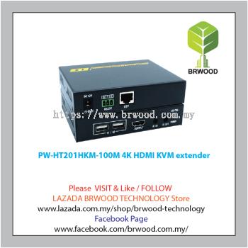 PWAY PW-HT201HKM-100M: 4K HDMI KVM Extender