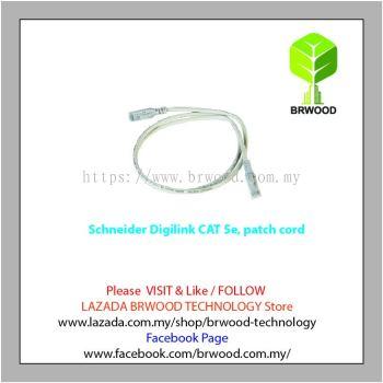 Schneider Digilink DCEPCURJ01GYM: Category 5e patch cord Cable 1M [5pcs]