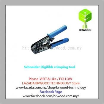 Schneider Digilink Crimping Tool DXYTOOLCRIMP: RJ45 Crimping Tool