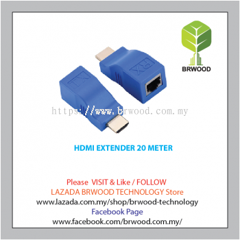 Vision Tec HDMI EXTENDER 20 METER - TW-HDMI-HDE30-D