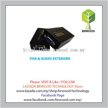 Vision Tec VHA & AUDIO EXTENDER - TW-VGA-EXT100-D
