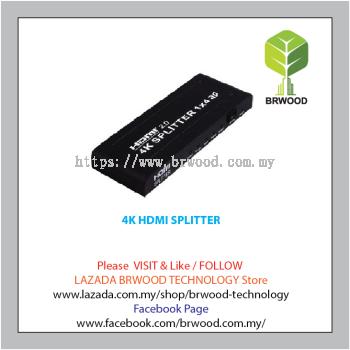 4K HDMI SPLITTER - TW-HDMI-HDSP4-V1.4