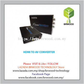 HDMI TO AV CONVERTER-TW-HDMI-HDCAV02