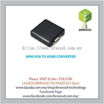 MINI VGA TO HDMI CONVERTER-TW-HDMI-HDCVGA01-M