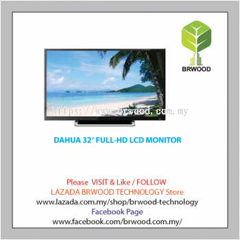 DAHUA 32�� FULL-HD LCD MONITOR -DH-DHL32-F600