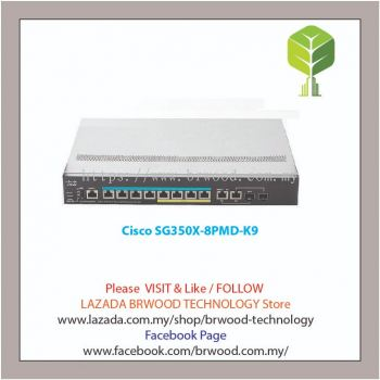Cisco SG350X-8PMD-K9: 8-Port 2.5G PoE Stackable Managed Switch