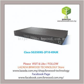 Cisco SG350XG-2F10-K9UK: 12-port 10GBase-T Stackable Switch
