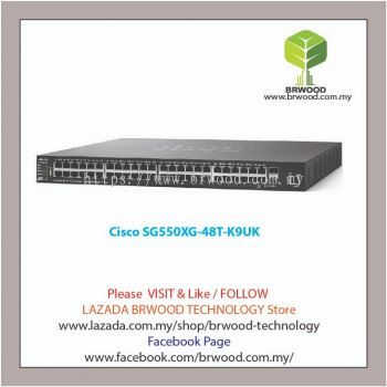 Cisco SG550XG-48T-K9UK: 48-Port 10GBase-T Stackable Managed Switch