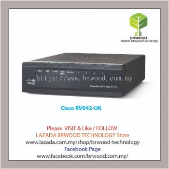 Cisco RV042-UK: 10/100 4-Port VPN Router