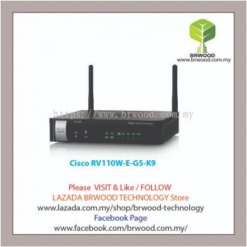 Cisco RV110W-E-G5-K9: Wireless N VPN Firewall