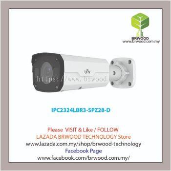 Uniview IPC2324LBR3-SPZ28-D:4MP VF Vandal-resistant Network IR Bullet Camera Motorized Lens