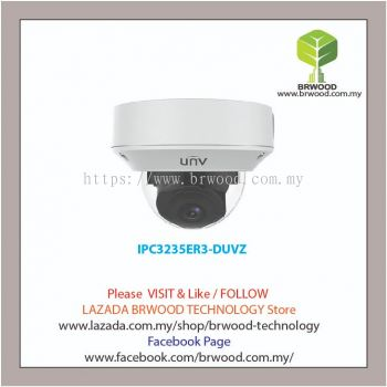 Uniview IPC3235ER3-DUVZ: 5MP WDR Starlight (Motorized) VF Vandal-resistant Network IR Fixed Dome Camera
