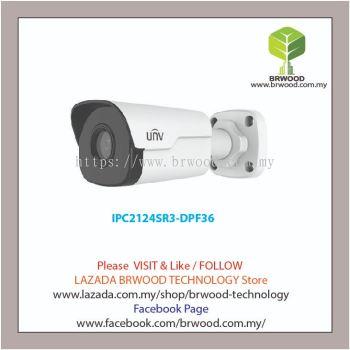 Uniview IPC2124SR3-DPF36: 4MP WDR Network IR Mini Bullet Camera