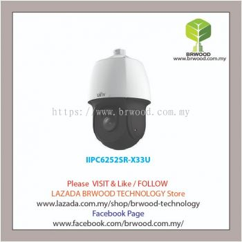 Uniview IPC6252SR-X33U: 2MP 33X Starlight IR Dome Camera