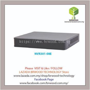 Uniview NVR301-08E: 4/8/16-ch 1-SATA Ultra 265/H.265/H.264&4K NVR