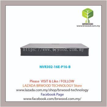 Uniview NVR302-16E-P16-B: 16-ch 2-SATA NVR w/ PoE