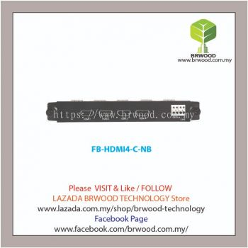 Uniview FB-HDMI4-C-NB: 4-Channel H.265 Decoder Card