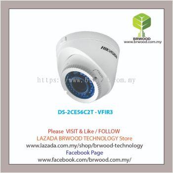 HIKVISION DS-2CE56C2T - VFIR3: HD720P Vari-focal IR Turret Camera