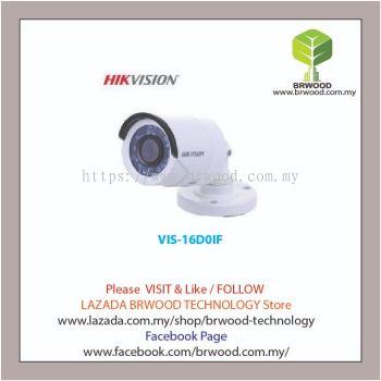 HIKVISION VIS-16D0IF: 2MP 1080P Bullet HD - TVI IR CCTV Camera
