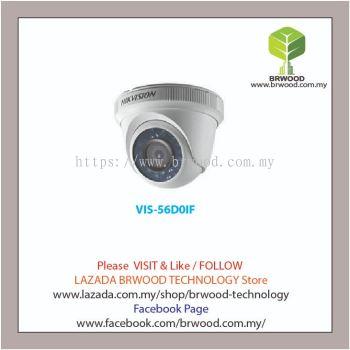 HIKVISION VIS-56D0IF: 2MP 1080P Dome Eyeball HD - TVI IR CCTV Camera